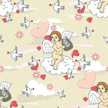 angel illustrator 04 vector