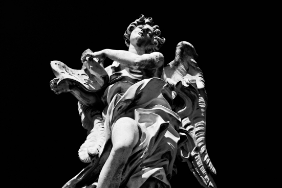 angelic contrast