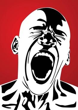Anger Pain Terror Scream