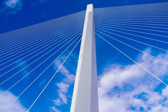 angle architecture bridge building city construction