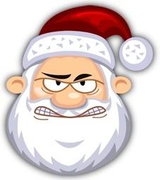Angry SantaClaus