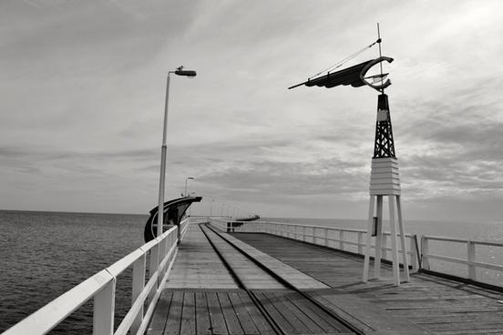 animal bird cloud deck direction dock fence holiday