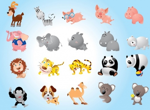 Animal Cartoons Pack