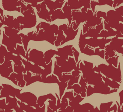 animal shading background vector art