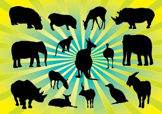 Animal Silhouettes Pack