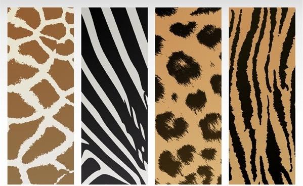 animal texture vector