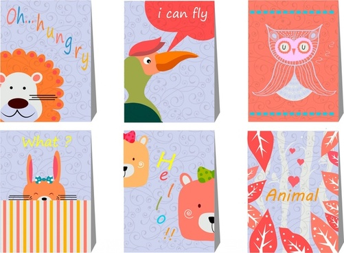 animals and plant education banner with cute design