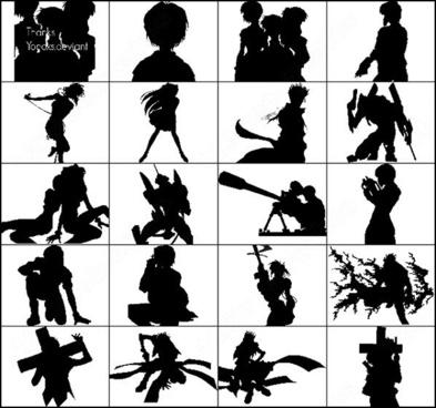 anime & manga brush