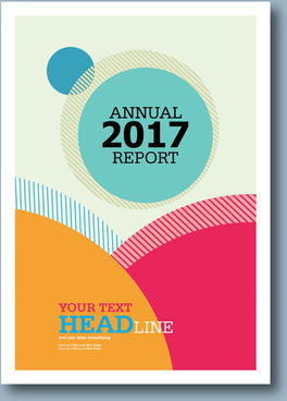 Annual report cover page free vector download 6759 free vector annual report 2017 maxwellsz