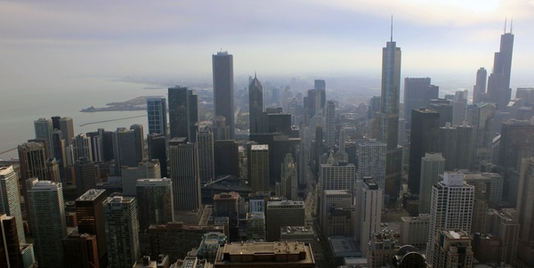another cityscape at chicago illinois