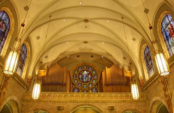 another look inside the basilica at holy hill wisconsin