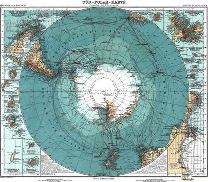 antarctica map old