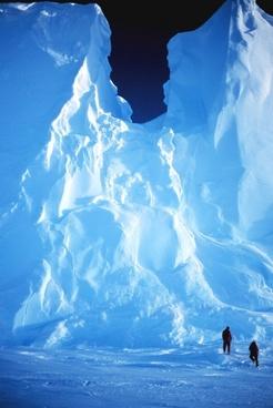 antarctica snow ice