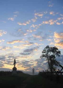 antietam maryland sky