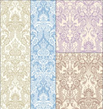 antique arnage decorative pattern background vector
