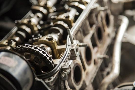 antique background bike chain chrome detail