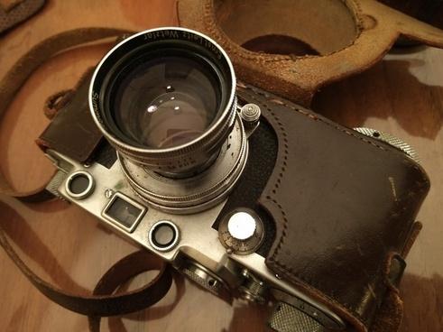 antique binoculars container equipment indoors lens