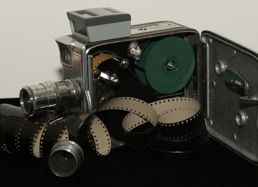 antique camera film