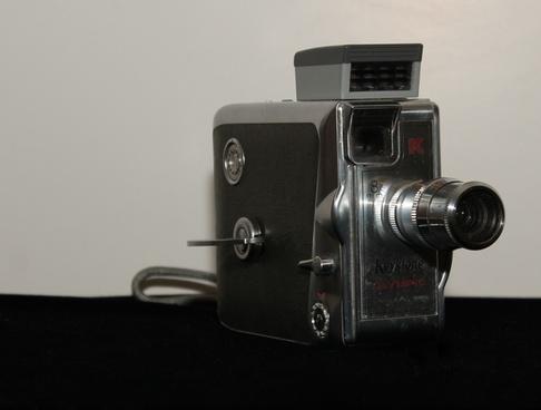 antique camera front