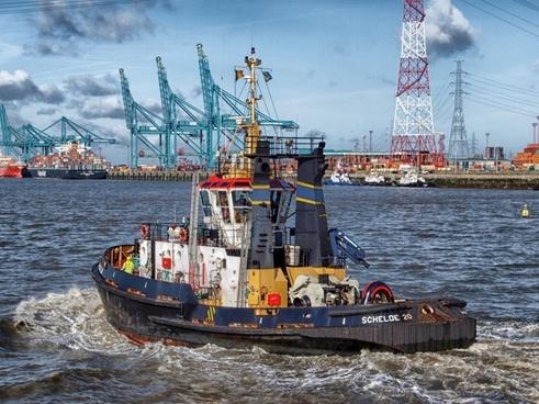 antwerp belgium boat