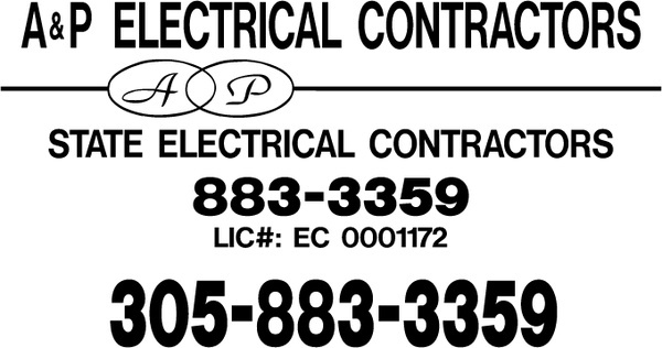 ap electrical contractors