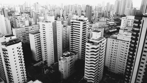 apartment architecture building business city