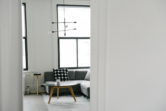 apartment chair contemporary desk door dwelling