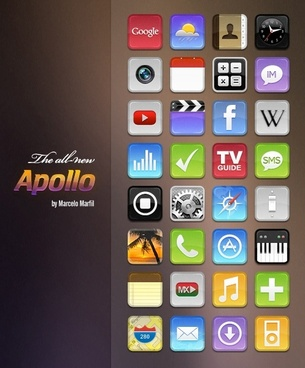 Apollo Icons icons pack