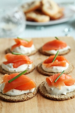 appetizer canape canapes