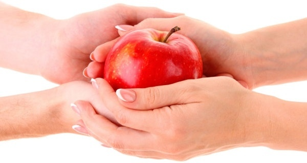 apple and hand 01 hd picture