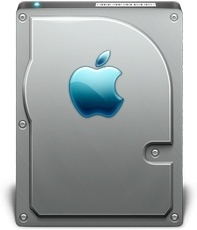 Apple Back side hard disk hdd