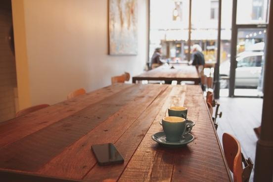 apple cafe chair cup iphone mug people phone