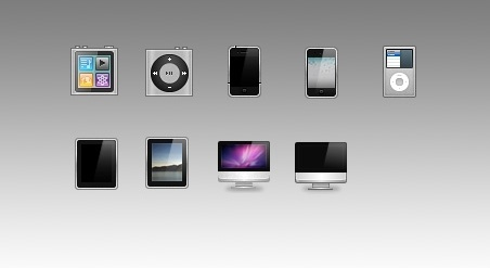 Apple Devices icons pack