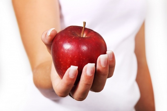 apple diet female