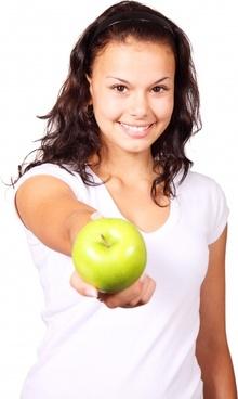 apple diet finger