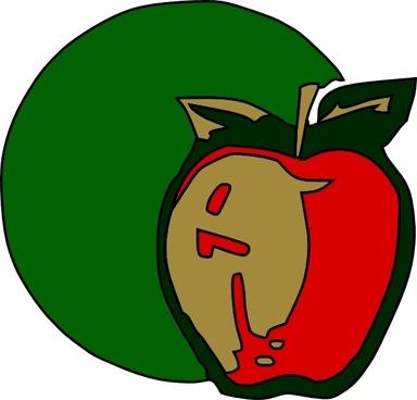 Apple Fruit Plant clip art