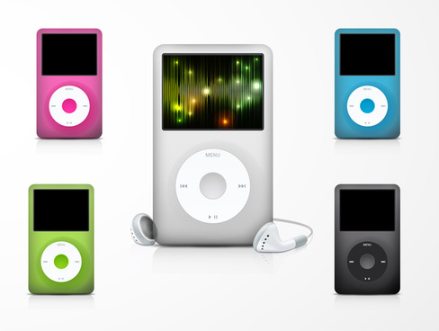 apple ipod illustration