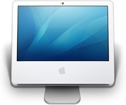Apple LCD monitor