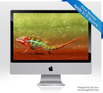 apple lcd monitor screen
