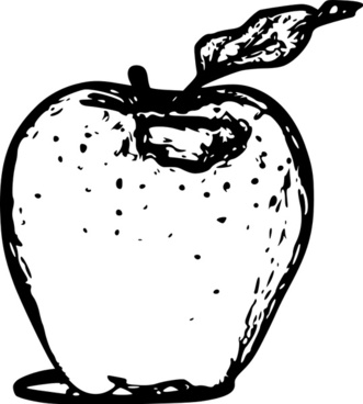 Apple line art