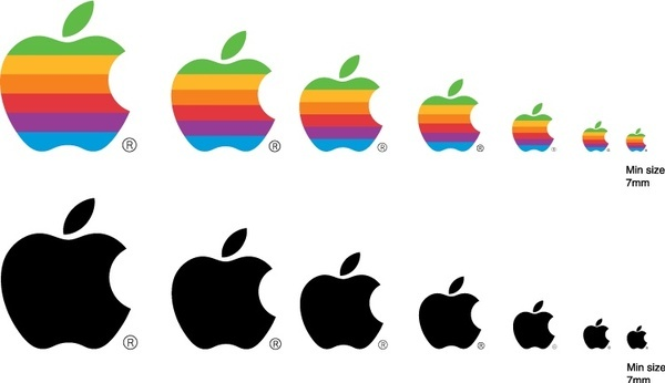 what was the first apple logo