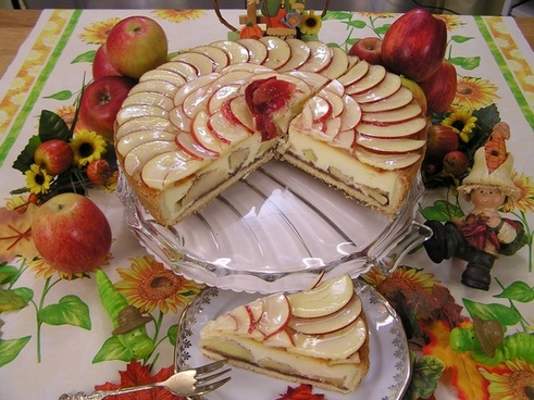 apple pie food cake