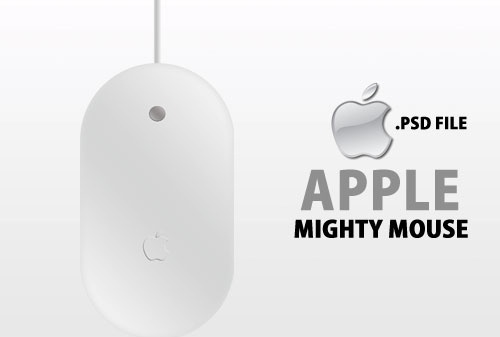 Apple PSD Mighty Mouse