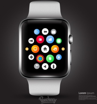 apple smartwatch mockup design
