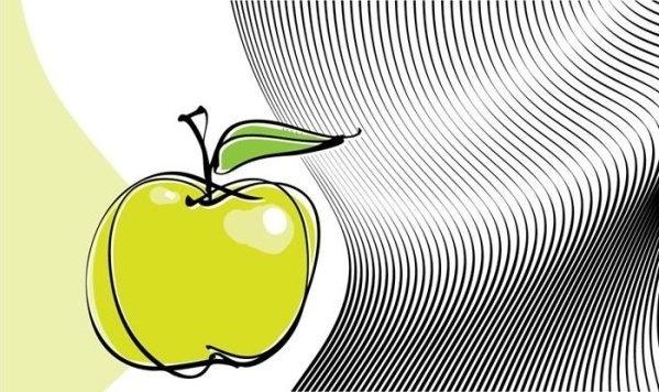 appledesigned templates vector line drawing 5