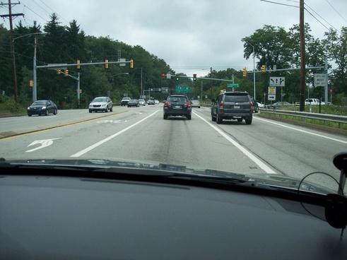 approaching a green light