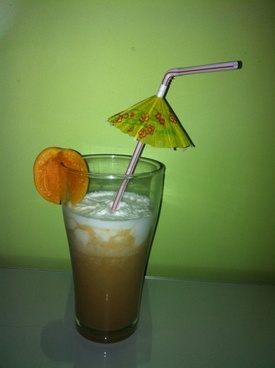 apricot apple smoothie