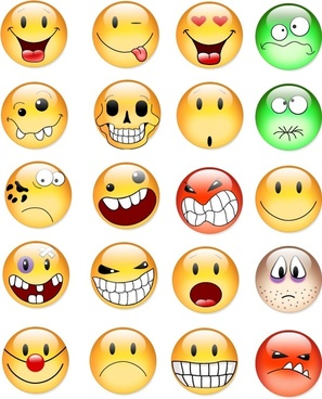 Aqua smiles XP Icons icons pack