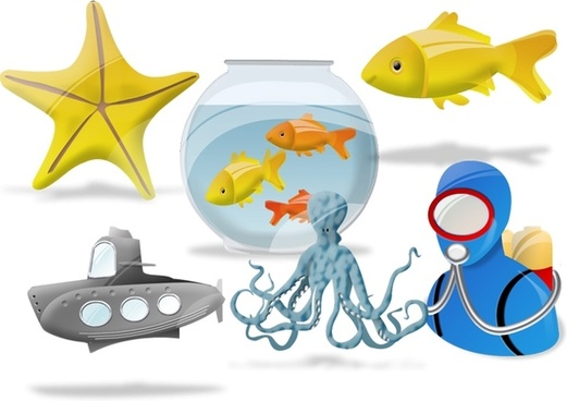 AQUATIC Vista Icons icons pack