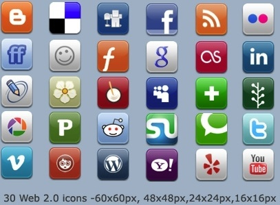Aquaticus Social icons icons pack